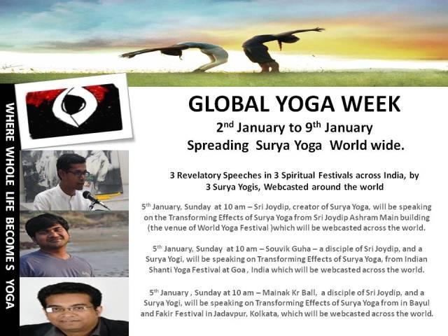 Global Yoga Week
