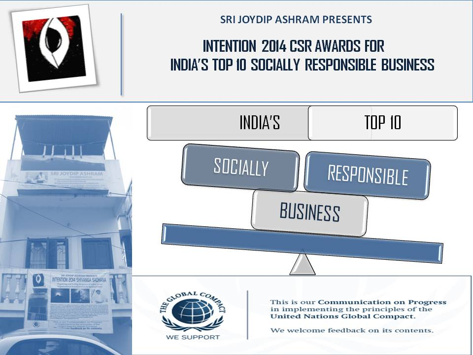 Intention_2014_India's_Top_10_Socially_Responsible_Business